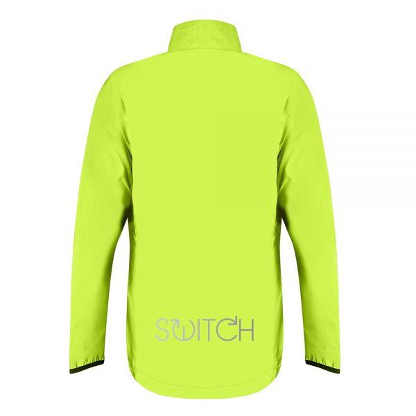 Streining Proviz Switch Cycling Jacket - Hommes et Femmes - Jaune / Reflective